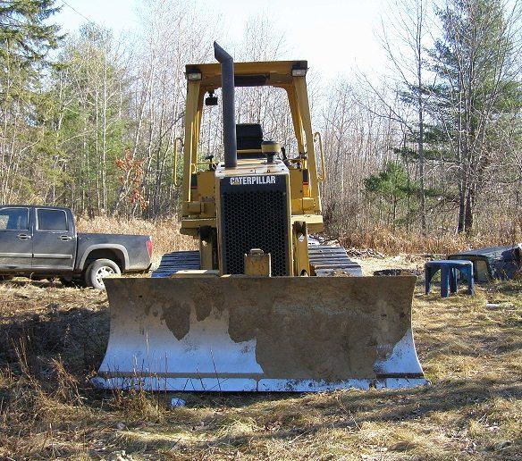 heavy equipment at Runamuk