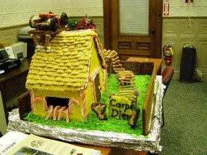 phineas and ferb gingerbread house